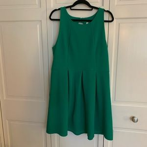 Xhilaration Green Dress with Cut Outs in Back